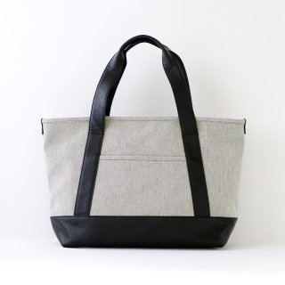 TOTE BAG (Mサイズ / グレイシャンブレー)<img class='new_mark_img2' src='https://img.shop-pro.jp/img/new/icons5.gif' style='border:none;display:inline;margin:0px;padding:0px;width:auto;' />