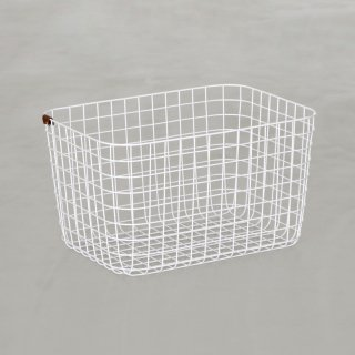 WIRE BASKET (L / white)
