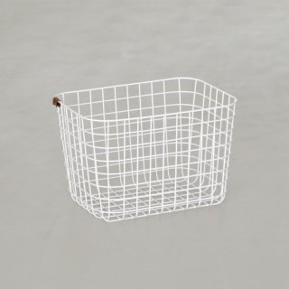 WIRE BASKET (M / white)