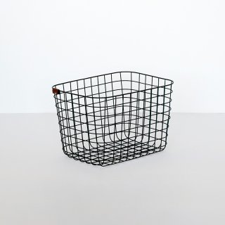 WIRE BASKET (M / black)
