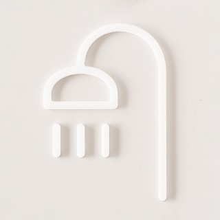 SHOWER (white)<img class='new_mark_img2' src='https://img.shop-pro.jp/img/new/icons5.gif' style='border:none;display:inline;margin:0px;padding:0px;width:auto;' />
