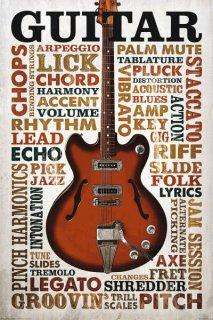 ギター ポスター