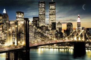 マンハッタン夜景 ポスター