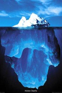 氷山 ポスター
