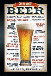 「ビールをください!」 ポスター