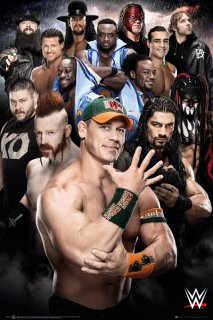 WWE ポスター<img class='new_mark_img2' src='https://img.shop-pro.jp/img/new/icons1.gif' style='border:none;display:inline;margin:0px;padding:0px;width:auto;' />