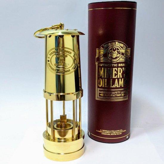E. Thomas & Williams イギリス製 オイルランタン ランプ 金 gold インテリア