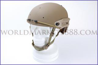 Crye Precision AirFrame タイプ ヘルメット&レイルセット DE