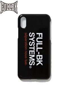 【FULL-BK(フルビーケー)】 SYSTEM iPhone CASE (iPhoneケース)