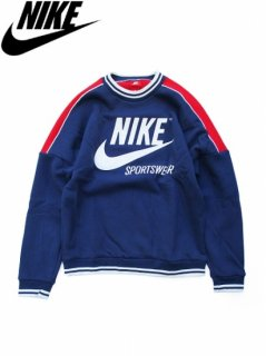 <img class='new_mark_img1' src='//img.shop-pro.jp/img/new/icons47.gif' style='border:none;display:inline;margin:0px;padding:0px;width:auto;' />【NIKE(ナイキ)】 ARCHIVE FLEECE CREW(アーカイブ フリース クルースウェット) BINARY BLUE