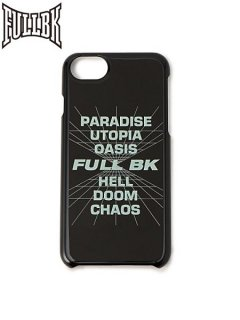 【FULL-BK(フルビーケー)】 3D VISION iPhone CASE (iPhoneケース)