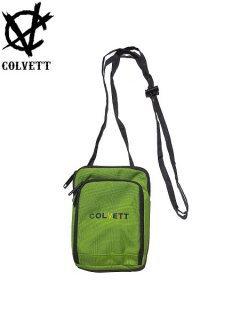 【COLVETT(コルベット)】 COLOR GANG MINI PASSPORT PORCH (ミニポーチ) Lime
