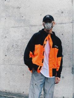 【DLSM(ディーエルエスエム)】DUALISM COLOR MOUNTAIN PARKA(マウンテンパーカー) Orange
