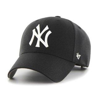 <img class='new_mark_img1' src='https://img.shop-pro.jp/img/new/icons58.gif' style='border:none;display:inline;margin:0px;padding:0px;width:auto;' />【47BRAND(フォーティーセブン ブランド)】Yankees '47 MVP(スナップバックキャップ) Black