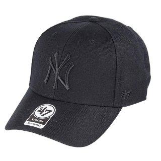 <img class='new_mark_img1' src='https://img.shop-pro.jp/img/new/icons7.gif' style='border:none;display:inline;margin:0px;padding:0px;width:auto;' />【47BRAND(フォーティーセブン ブランド)】Yankees '47 MVP(スナップバックキャップ) Black×Black