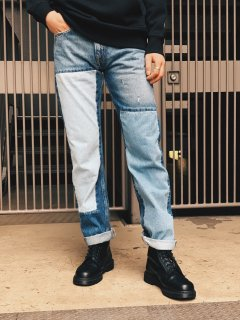 <img class='new_mark_img1' src='https://img.shop-pro.jp/img/new/icons7.gif' style='border:none;display:inline;margin:0px;padding:0px;width:auto;' />【Calvin Klein Jeans(カルバン クライン ジーンズ)】AMERICAN CLASSICS STRAIGHT DENIM PANTS (ストレートデニムパンツ) Indigo