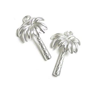 【2個入り】Palm Tree(ヤシの木)マッドシルバーチャーム
