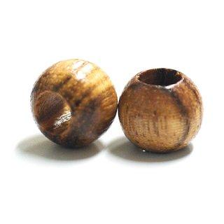 Natural Woodナチュラルウッドカラー13mmウッドビーズ、パーツ