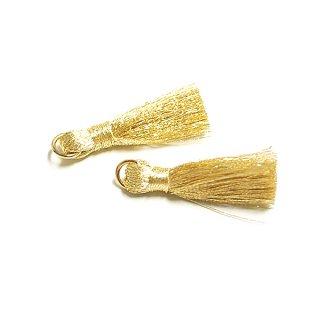 【4個入り】Goldゴールドカラー約30mmタッセル、チャーム
