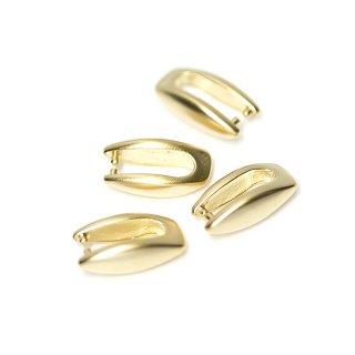 【4個入り】マットゴールド!シンプルバチカン、金具