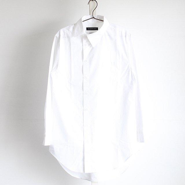 【AS SUPER SONIC】アシンメトリーカラーロング丈ドレスシャツ