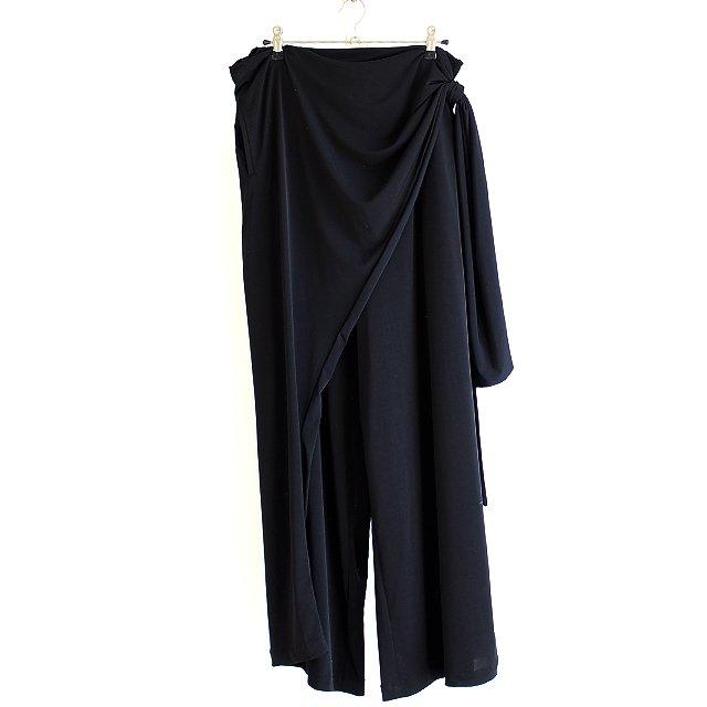 【albino】巻きスカートデザインドレープワイドパンツ