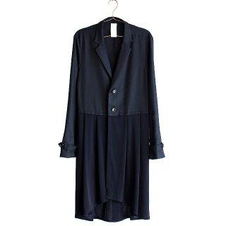 【albino】スカートモチーフ切り替えロングテーラードジャケット