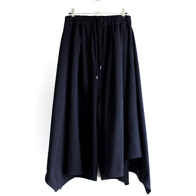 【AS SUPER SONIC】ドレープスカート風ワイドパンツ