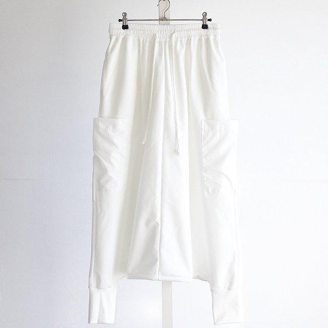 【albino】異素材ポケット付きスーパー...