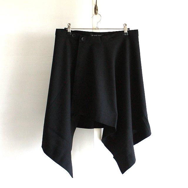 【AS SUPER SONIC】アシンメトリーデザインフラップスカート