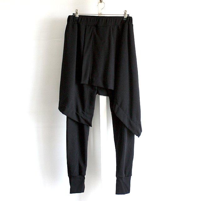 【AS SUPER SONIC】フラップスカート付きレギンスジョガーパンツ