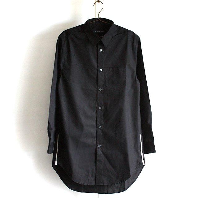 【AS SUPER SONIC】ZIPスリットロング丈ドレスシャツ