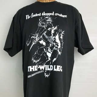 <img class='new_mark_img1' src='//img.shop-pro.jp/img/new/icons16.gif' style='border:none;display:inline;margin:0px;padding:0px;width:auto;' />THE WILD LEG Tシャツ(LEG-black)