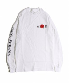 CycleZombies / サイクルゾンビーズ ROSE BUD L/S T-SHIRT