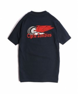 CycleZombies / サイクルゾンビーズ FINISH LINE S/S T-SHIRT