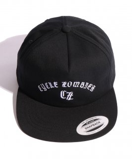 CycleZombies / サイクルゾンビーズ BAR CODE Unconstructed Snapback Hat