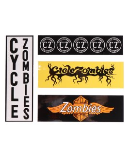 CycleZombies / サイクルゾンビーズ CZ Bumper Stickers PACK
