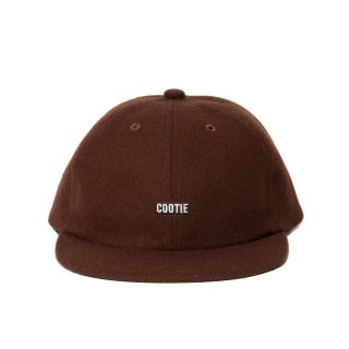 COOTIE(クーティー)/CTE-19A505 Wool 6 Panel Cap【BROWN】