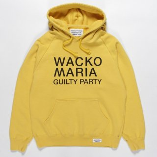 <img class='new_mark_img1' src='https://img.shop-pro.jp/img/new/icons50.gif' style='border:none;display:inline;margin:0px;padding:0px;width:auto;' />WACKO MARIA(ワコマリア) /WASHED HEAVY WEIGHT PULLOVER HOODED SWEAT SHIRT ( TYPE-2 )【YELLOW】