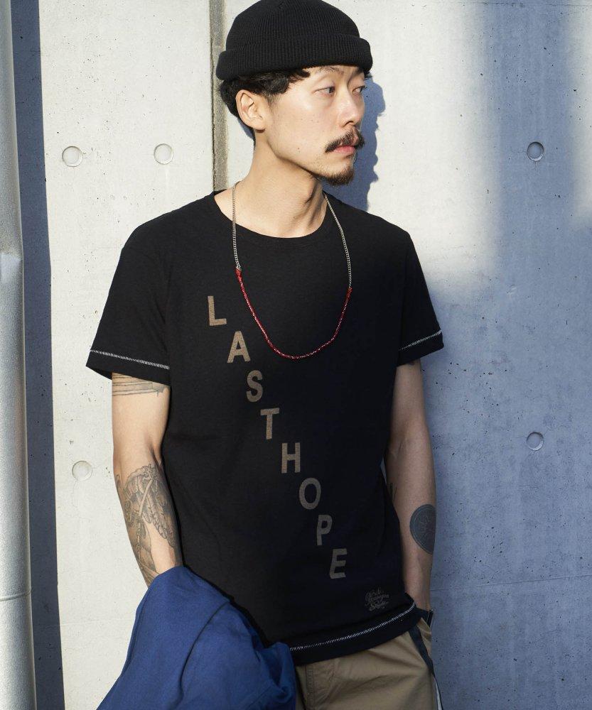 【PIED PIPER REBIRTH PROJECT】リサイクルコットンTシャツ LAST HOPE
