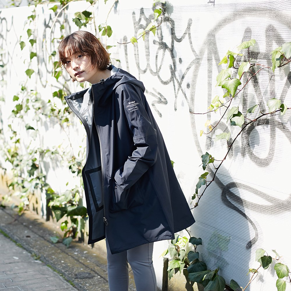 <img class='new_mark_img1' src='//img.shop-pro.jp/img/new/icons20.gif' style='border:none;display:inline;margin:0px;padding:0px;width:auto;' />【10%OFF】【ECOALF】WOMENS NIAGARA フーデットコート