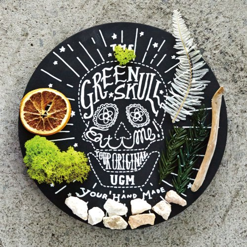 【URBAN GREEN MAKERS】GREEN ART GREEN SKULL