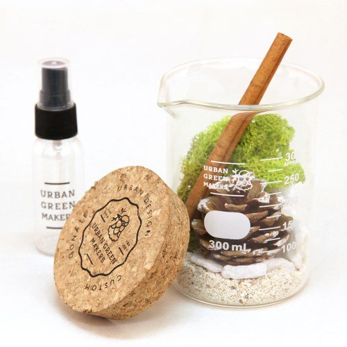 【URBAN GREEN MAKERS】TERRARIUM BEAKER08