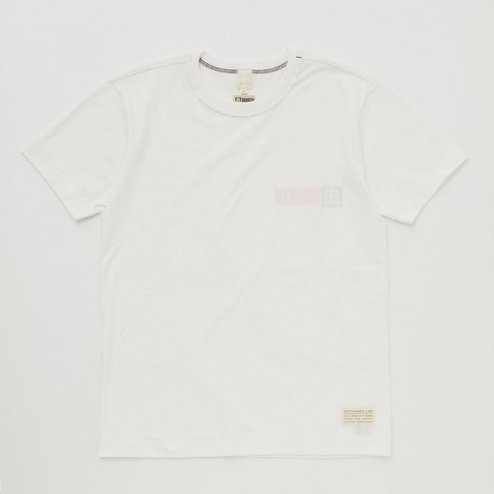 【REBIRTH PROJECT】Inside out オーガニックコットンTシャツ MENS