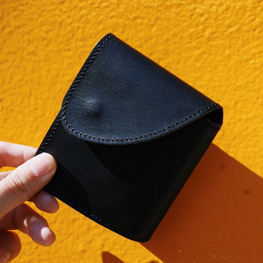 【REBIRTH PROJECT】INOCHIKA bi-fold wallet BLK