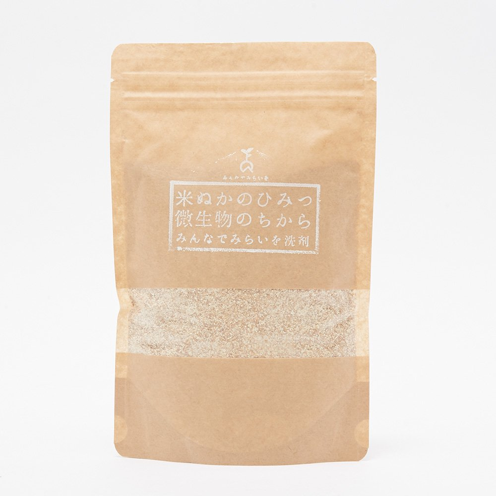【みんなでみらいを】米ぬか酵素 マルチ洗剤 詰替パック