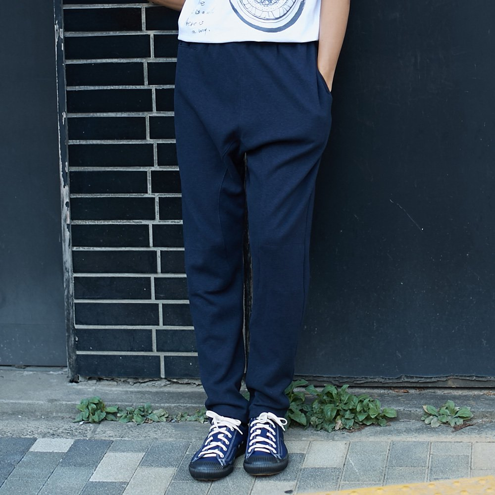 <img class='new_mark_img1' src='//img.shop-pro.jp/img/new/icons5.gif' style='border:none;display:inline;margin:0px;padding:0px;width:auto;' />【ATON】WATA DOUBLE SWEAT PANTS 【NVY】