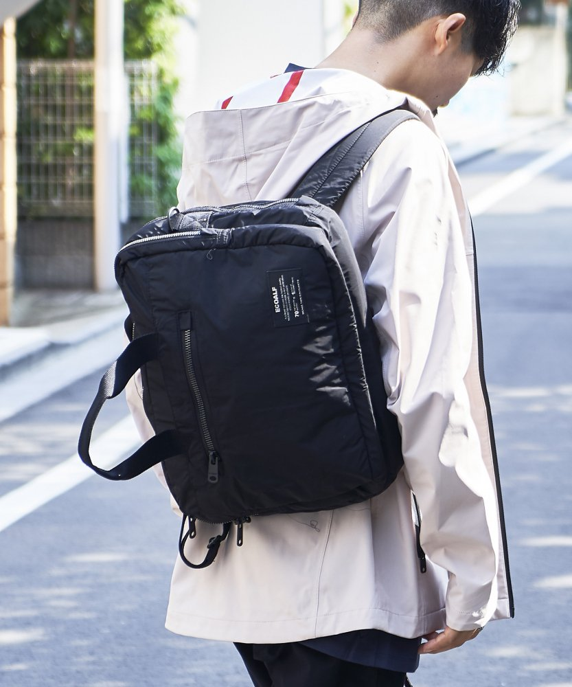 【ECOALF】CAMBRIDGE 3way ブリーフケース BLK