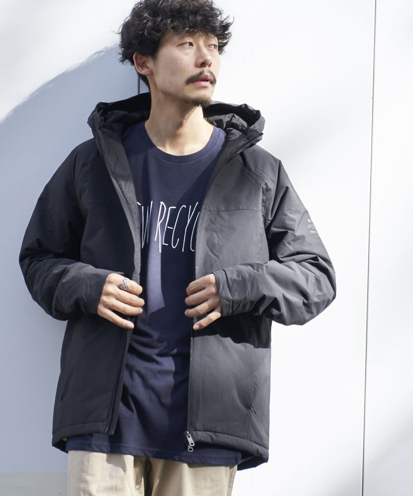 <img class='new_mark_img1' src='https://img.shop-pro.jp/img/new/icons20.gif' style='border:none;display:inline;margin:0px;padding:0px;width:auto;' /><50%OFF>【ECOALF】 MENS TUCSON ダウンジャケット BLK