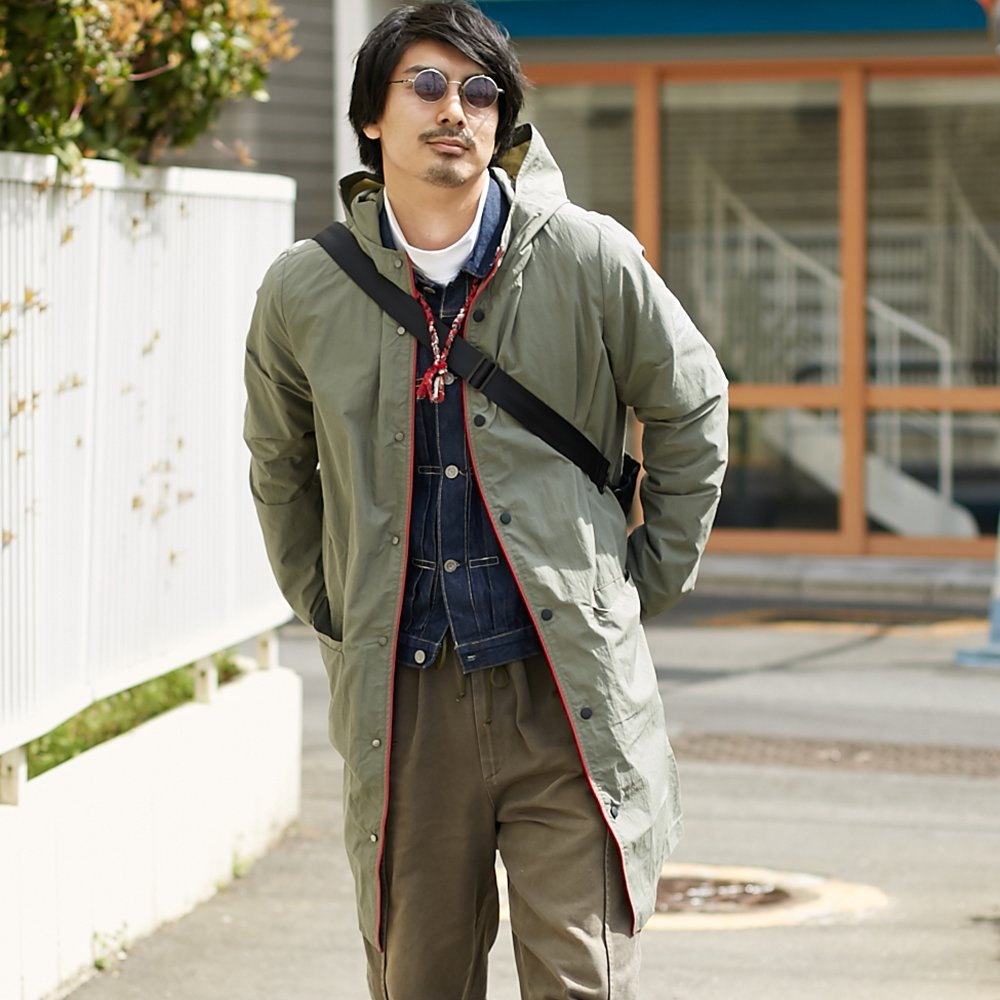 【ECOALF】MENS  EVERTON コート KHK
